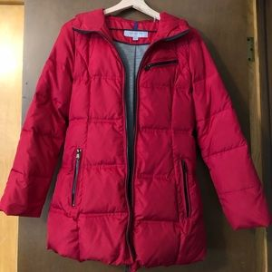 Marc New York/Andrew Marc red winter puffer coat